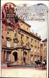 Künstler Ak Gubitz, F., Ludwigsburg in Württemberg, Schlossansicht