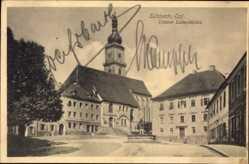 Postcard Sulzbach Rosenberg Fränkischen Alb Oberpfalz, Unterer Luitpoldplatz