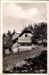 Postcard Hilm Gerolsbach Oberbayern, Rettererhaus auf der Hilm