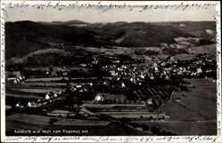 Postcard Sulzbach an der Murr, Fliegeraufnahme von der ganzen Stadt