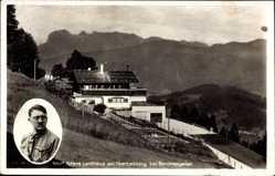 Postcard Berchtesgaden, Haus Wachenfeld vor der Zerstörung, Adolf Hitler