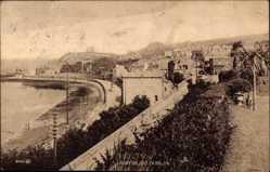 Postcard Howth County Dublin Irland, Village, Beach, Häuser am Strand