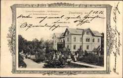 Passepartout Ak Zitzschewig Radebeul, Frauen Genesungsheim Alt Wettinhöhe