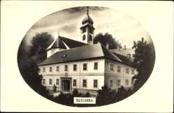 Postcard Máriavölgy Mariatal Marianka Slowakei, Blick auf die Wallfahrtskirche