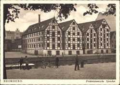 Ak Bydgoszcz Bromberg Westpreußen, Blick auf die Friderizianischen Speicher
