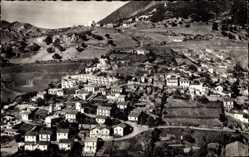 Postcard Bougie Algerien, Quartier de la Ville, Vogelperspektive, Stadtansicht