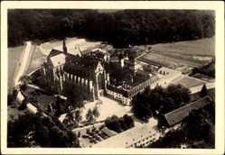 Postcard Altenberg Odenthal, Blick auf den Dom und das Kloster, Fliegeraufnahme