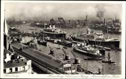 Ansichtskarten Kategorie Hafen