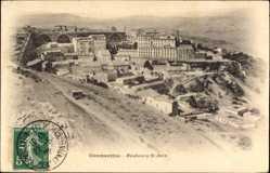 Postcard Constantine Algerien, Faubourg St. Jean, Teilansicht der Ortschaft