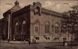 Postcard Odessa Ukraine, Außenansicht der Börse, Fassade