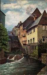Künstler Ak Braun, L., Monschau Montjoie in Nordrhein Westfalen, Laufenbach
