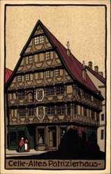 Steindruck Ak Celle in Niedersachsen, Altes Patrizierhaus