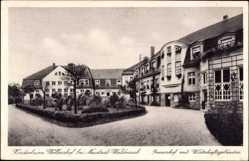Postcard Störnstein, Kinderheim Wöllershof, Innenhof mit Wirtschaftsgebäuden