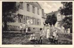 Postcard Störnstein, Blick auf das Bayernhaus, Kindererholungsheim Wöllershof