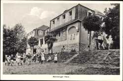 Postcard Störnstein, Blick auf das Nürnberger Haus, Kindererholungsheim Wöllershof
