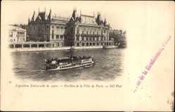 Cp Paris, Expo, Weltausstellung 1900, Pavillon de la Ville de Paris, Neurdein