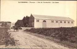 Postcard La Marsa Tunesien, Clos de l'Archevêché, Les Caves