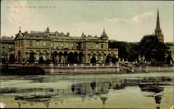 Postcard Nottingham East Midlands England, Clumber House from South West