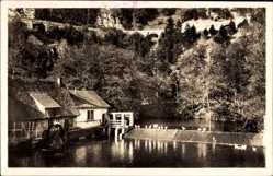 Postcard Blaubeuren im Alb Donau Kreis Baden Württemberg, Blautopf