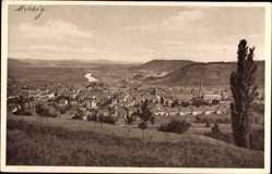 Postcard Merzig an der Saar im Kreis Merzig Wadern, Blick auf den Ort