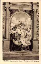 Postcard Wieliczka Groß Salze Polen, Legenda o sw. Kindzie, Wl. Tetmajera
