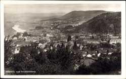 Postcard Merzig an der Saar im Kreis Merzig Wadern, Blick vom Schwarzenberg aus