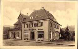 Postcard Stuttgart Hedelfingen in Baden Württemberg, Cafe Konditorei W. Wyrich
