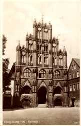 Ak Chojna Königsberg Neumark Ostbrandenburg, Blick auf das Rathaus
