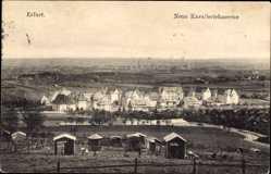 Ak Erfurt in Thüringen, Blick auf die neue Kavalleriekaserne, Häuser