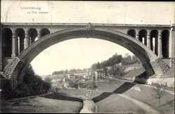 Ansichtskarten Kategorie Adolphe (Adolphe-Brücke)