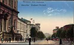 Postcard Warszawa Warschau Polen, Krakauer Vorstadt, Krakowskie Przedmiescie