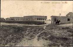 Ak Zarzis Tunesien, Les Casernes, Ansicht der Kasernen