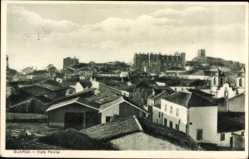 Postcard Guarda Portugal, Vista parcial, Teilansicht der Stadt