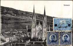 Postcard Vršac Versecz Werschetz Serbien, Kathedrale des Heiligen Gerhard