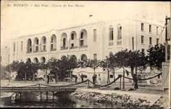 Ak Bizerte Tunesien, La Baie Ponty, Caserne des Sous Marines, Kaserne