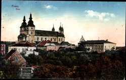 Ak Poznań Posen, Blick zum Dom, Umgebung, Gebäude