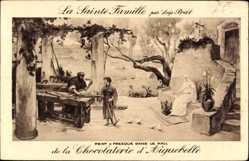 Künstler Ak Prat, Loys, La Sainte Famille, Chocolaterie d'Aiguebelle