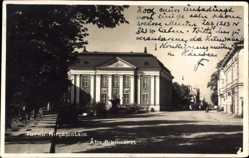 Postcard Turku Åbo Westfinnland, Kirjastotalo, Biblioteket, Bibliothek