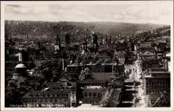 Blick vom Bahnhofturm