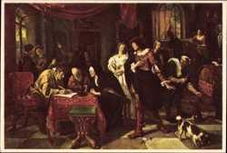 Jan Steen, Het Huwelijkscontract