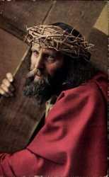 Passionsspiele 1922, Jesus kreuztragend