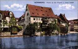 Pegnitz, Insel Schütt