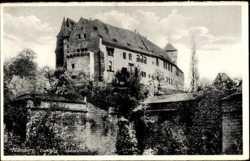 Burg, Südwestseite