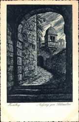 Schlossaufgang