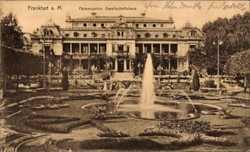 Gesellschaftshaus, Garten