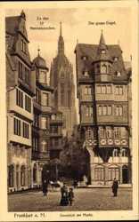 Domblick, Markt