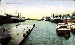 Partie im Hafen