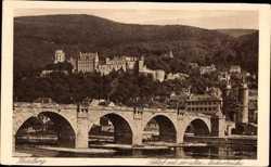 Neckarbrücke mit Schloss