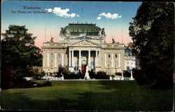 kgl. Theater mit Schillerdenkmal