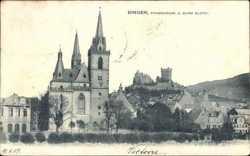 Pfarrkirche, Burg Klopp